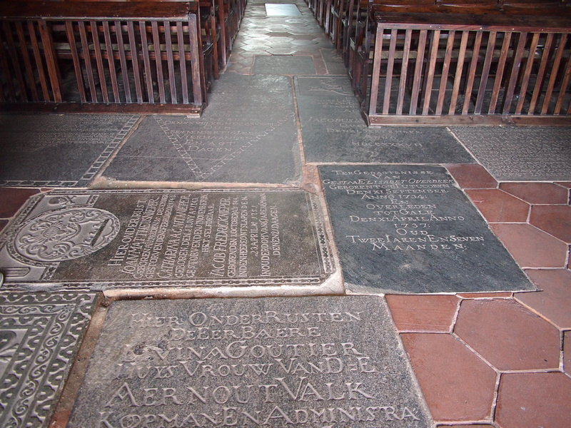 Dutch Reformed Church floor