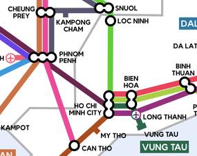 Saigon to Phnom Penh