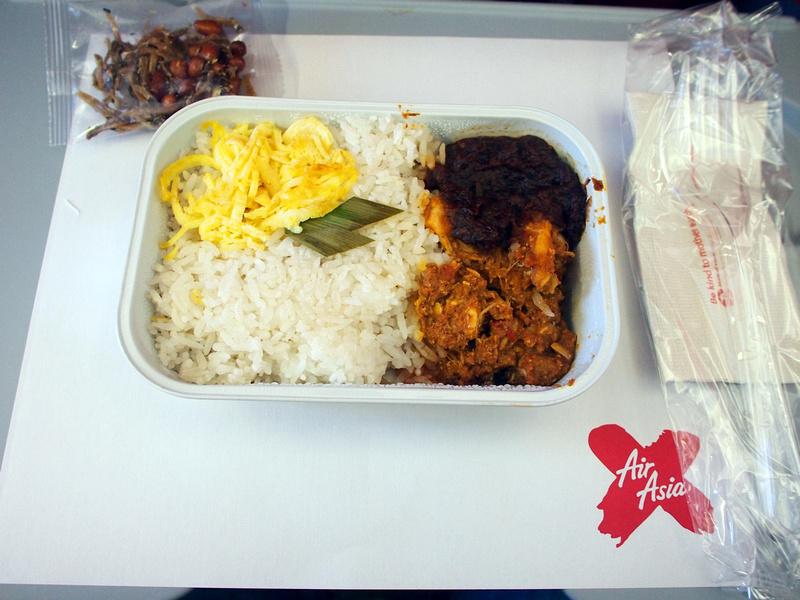 AirAsia X Nasi Lemak