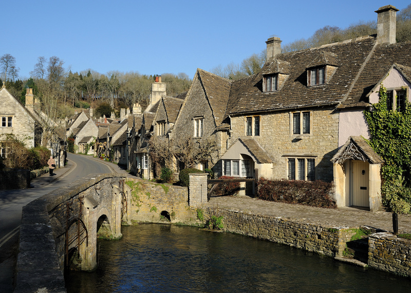 Castle Combe in The Cotswolds [England]