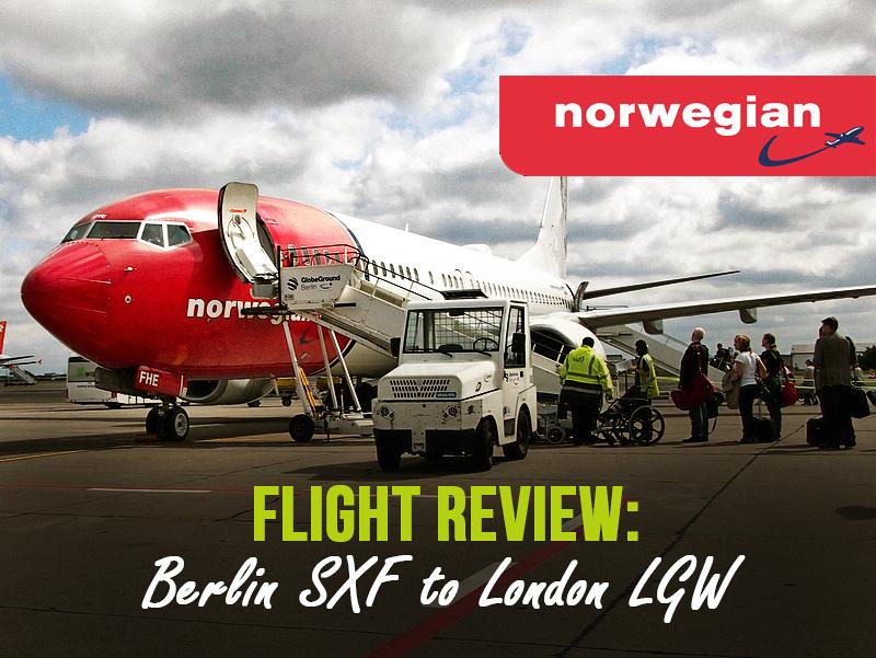 Flight Review: Norwegian - Berlin SXF to London LGW