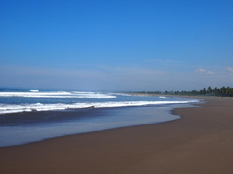Deserted Pangandaran Beach