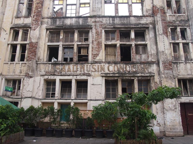 Old warehouse in Kota (Old Jakarta)