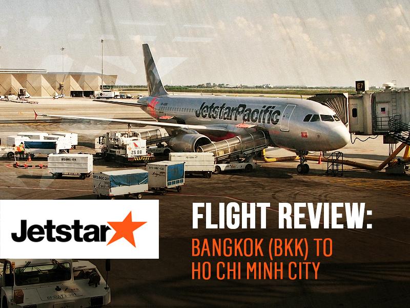 Jetstar Pacific - Bangkok (BKK) to Ho Chi Minh City