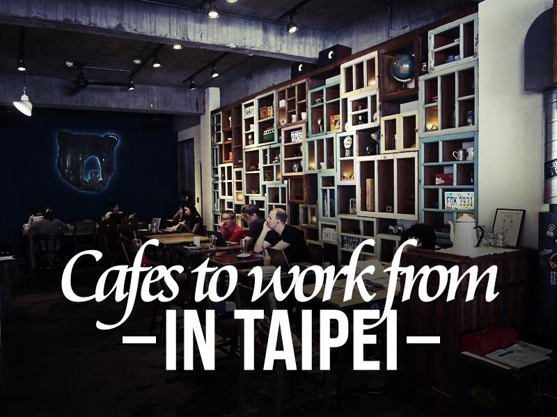 Taipei Cafes List