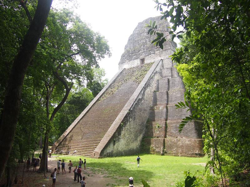 Temple V, Tikal - Guatemala