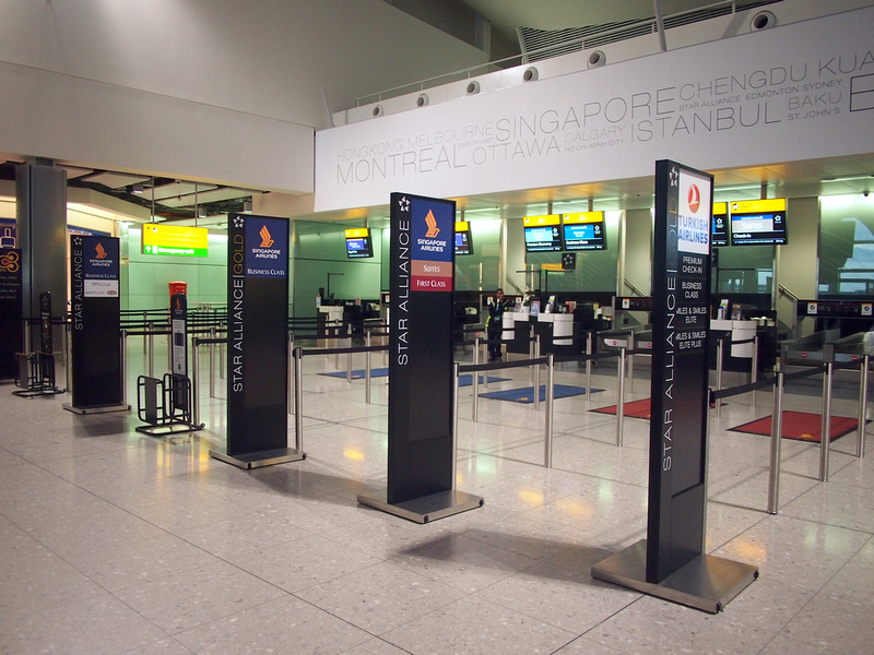 Check in at LHR
