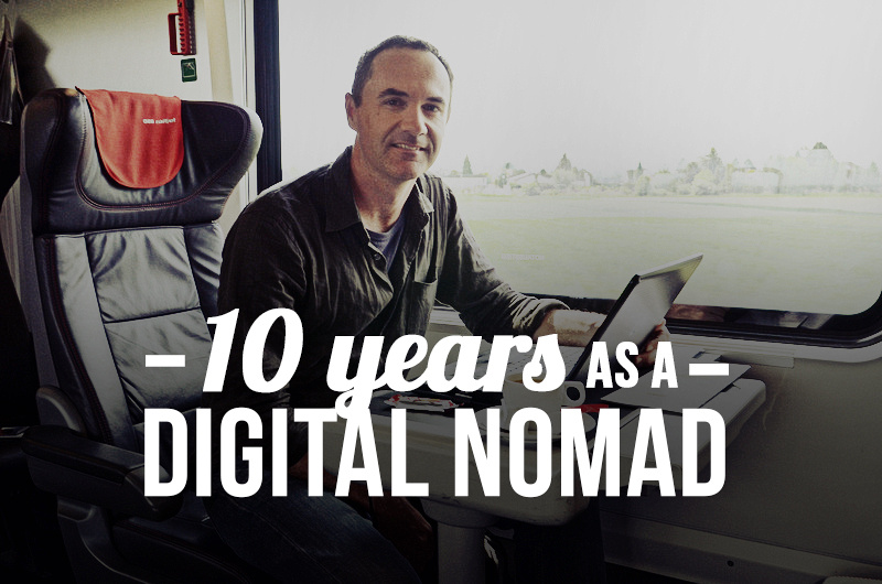 10 years as a digital nomad