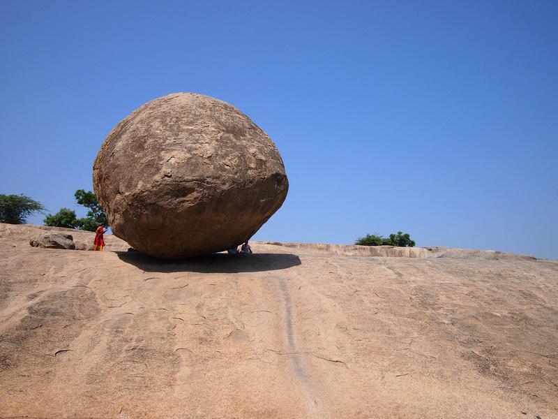 Krishna's Butter Ball - Mamallapuram