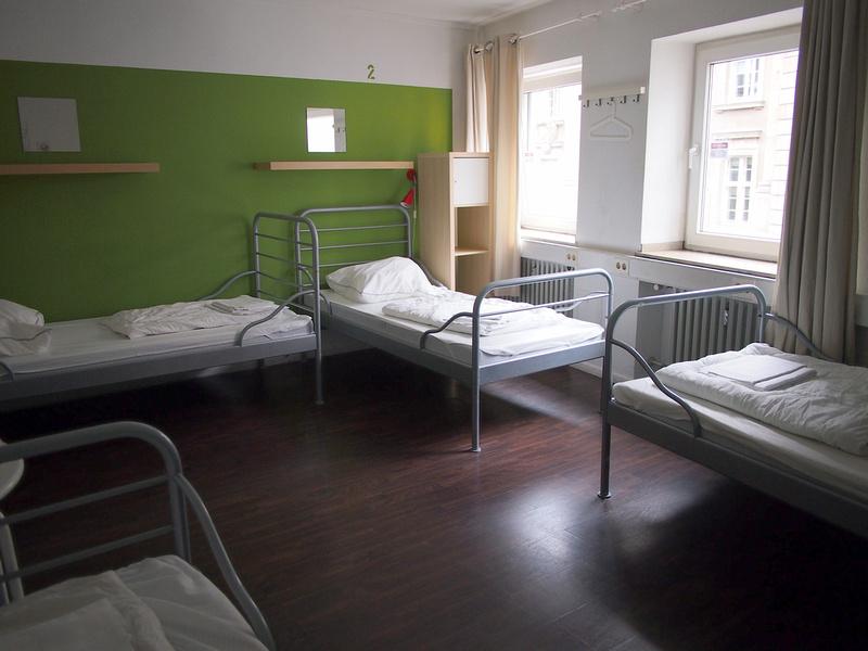 4-bed dorm