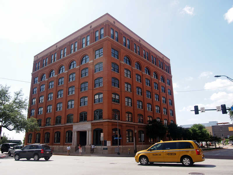 The Texas School Book Depository (now the Dallas County Administration Building)