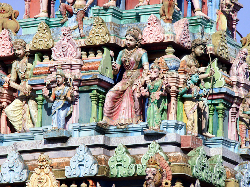 Sri Mahamariamman Temple, Georgetown Penang - Malaysia