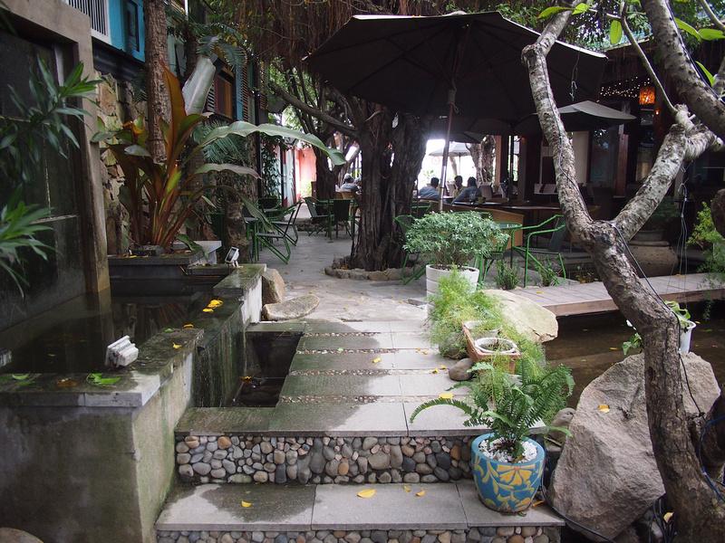 Coconut Coffee - garden cafe