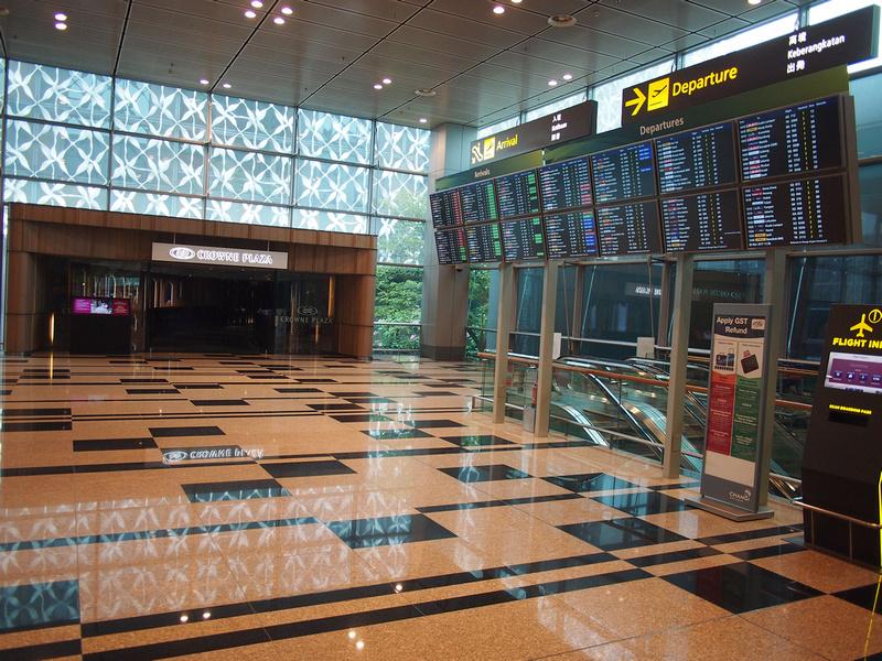 Crowne Plaza Changi - Terminal 3 entrance