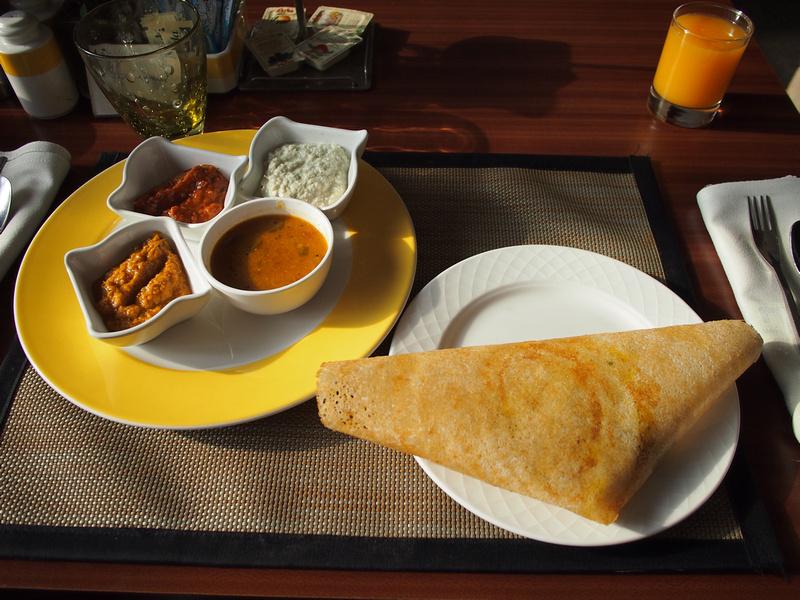 Masala Dosa Breakfast - Radisson Blu Resort Temple Bay Mamallapuram