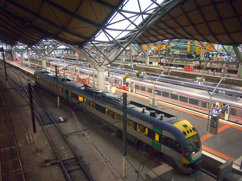 Southern Cross Station, Melbourne - Australia