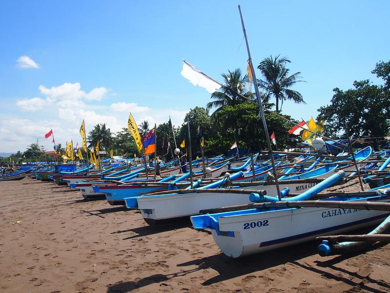 Pangandaran fishing boats