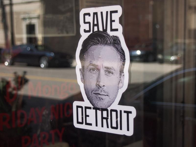 Ryan Gosling - Save Detroit