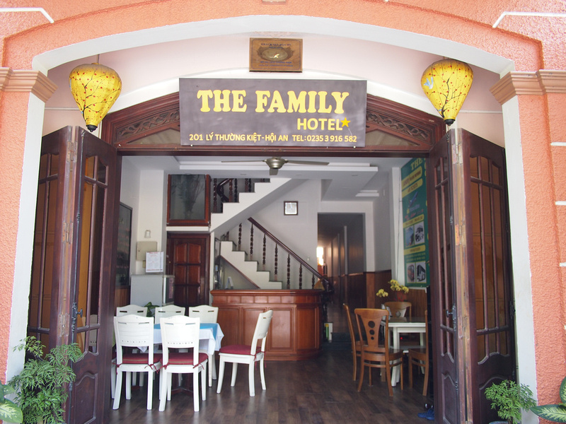 The Family Hotel entrance