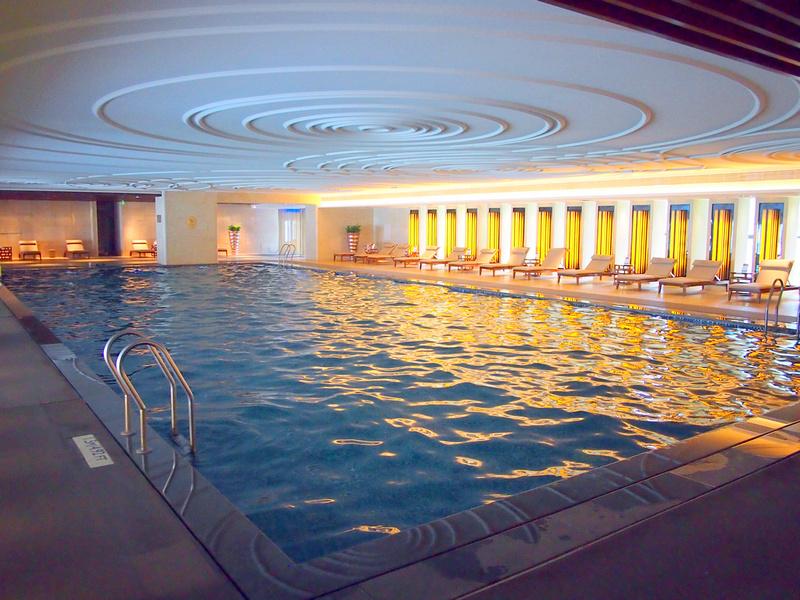 Indoor Swimming Pool - Radisson Blu Plaza Chongqing