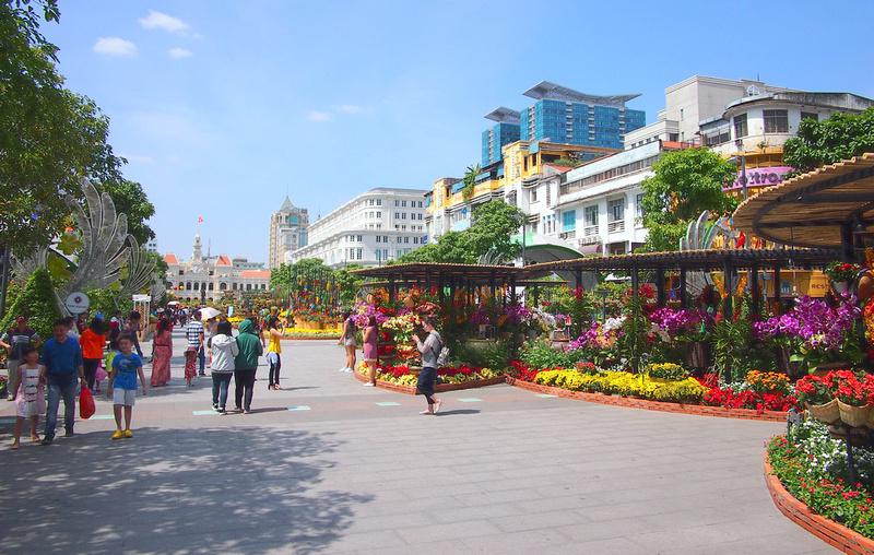 Tet in Ho Chi Minh City