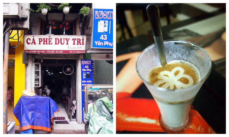 Frozen Yogurt Coffee @ Cafe Duy Tri - Hanoi