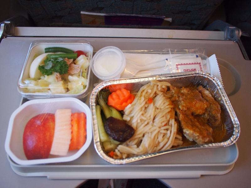 Cambodia Angkor Air - Lunch